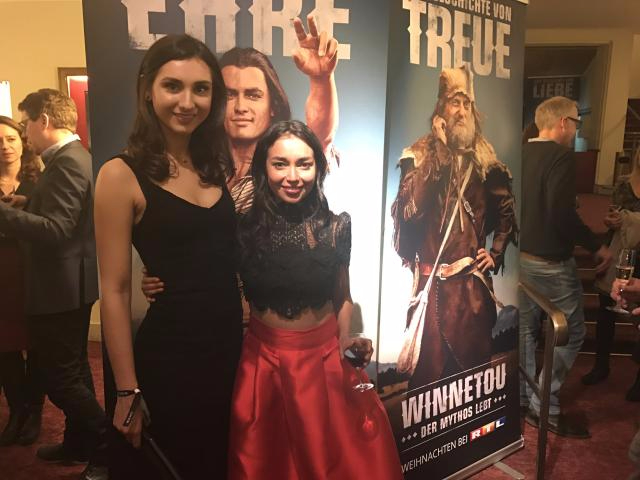 Feature film 'Winnetou' Premiere- Presenting